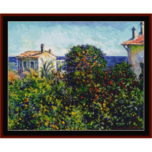 House of the Gardner - Monet cross stitch pattern by Cross Stitch Collectibles | Crafting | Cross-Stitch | Wall Hangings