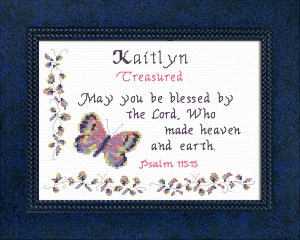 Name Blessings -  Kaitlyn 2 | Crafting | Cross-Stitch | Other