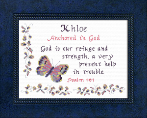 Name Blessings -  Khloe 2 | Crafting | Cross-Stitch | Other