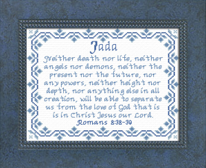 Name Blessings -  Jada | Crafting | Cross-Stitch | Other