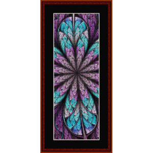 Fractal 666 Bookmark by Cross Stitch Collectibles | Crafting | Cross-Stitch | Other