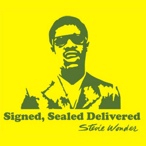 signed sealed delivered (stevie wonder) custom arrangement for choir/solo and 5441 big band