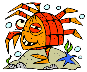 Colored Crab Illustration | Photos and Images | Animals