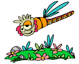 Colored Dragonfly Illustration | Photos and Images | Animals
