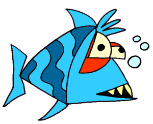 Colored Fish Illustration   Photos and Images   Animals