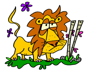 Colored Lion Illustration | Photos and Images | Animals