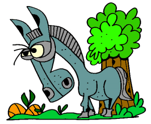 Colored Mule Illustration | Photos and Images | Animals