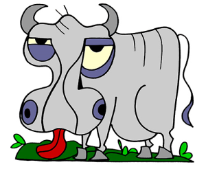 Colored Ox Illustration | Photos and Images | Animals