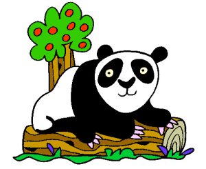 Colored Panda Illustration | Photos and Images | Animals