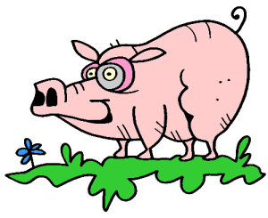 Colored Pig Illustration | Photos and Images | Animals