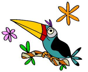 Colored Toucan Illustration | Photos and Images | Animals