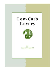 a dessert cookbook for low-carb diets