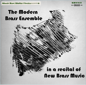 the modern brass ensemble in a recital of  new brass music