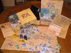 [board game] ra - 1500 years of egupt history