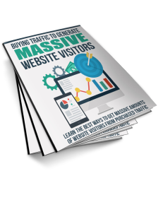 Buying Traffic To Generate Massive Website Visitors | eBooks | Business and Money