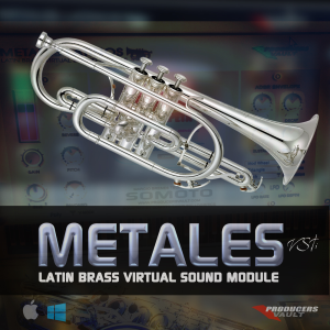 METALES VSTi for WINDOWS Latin Brass Virtual Sound Module | Software | Add-Ons and Plug-ins