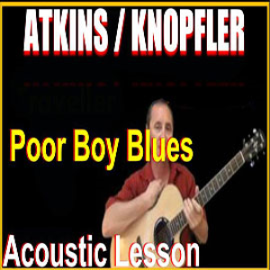 learn to play poor boy blues by atkins & knopfler