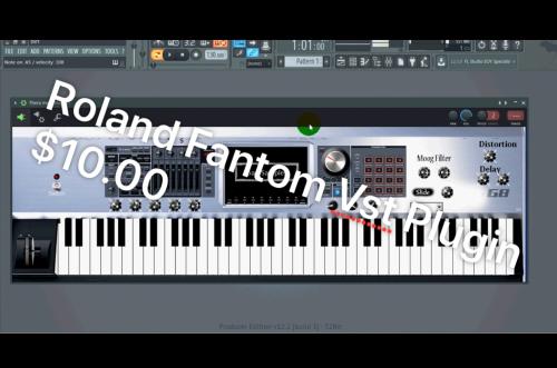 First Additional product image for - Roland Fantom G8 sounds + Free Vst plugin