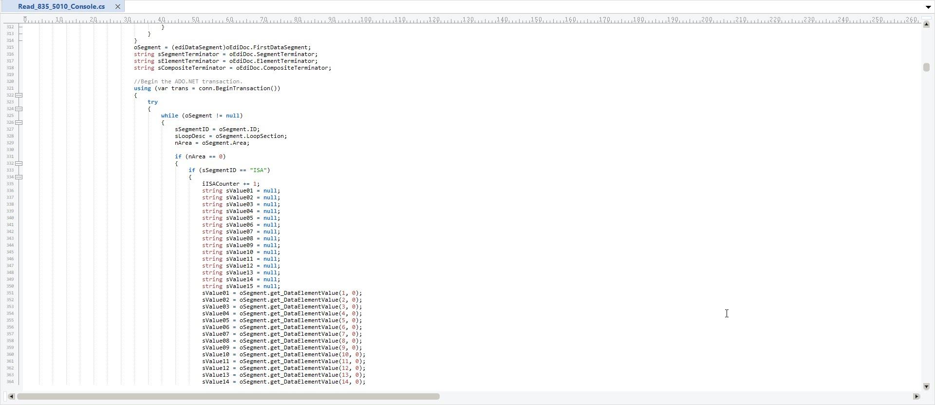 Read_835_5010_Source_Code | Software | Developer
