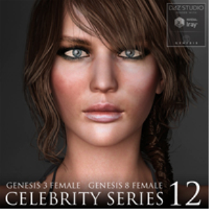 Celebrity Series 12 for Genesis 3 and Genesis 8 Female | Software | Design