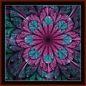 Fractal 672 cross stitch pattern by Cross Stitch Collectibles | Crafting | Cross-Stitch | Other