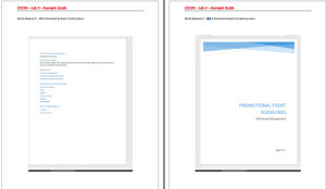 CIS105-71 Lab3 | Documents and Forms | Templates