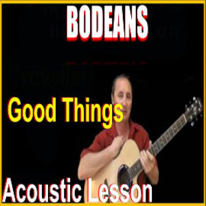 learn to play good things by bodeans