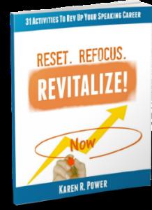 reset. refocus. revitalize!