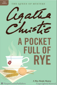 a pocketful of rye,christie,agatha