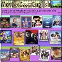 MoviesGrowEnglish, Low Level ESL Texbook 2018 | eBooks | Entertainment