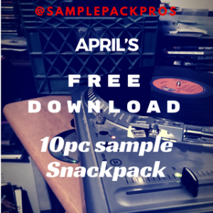 april's 10 pc free sample snack pack