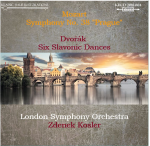 "mozart: symphony no. 38 ""prague""/dvorák: six slavonic dances - london symphony orchestra/zdenek kosler"