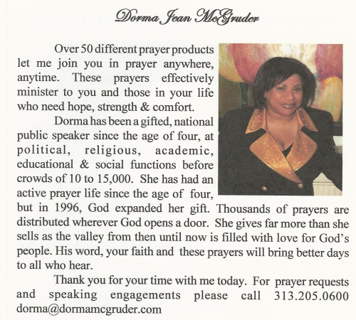 Third Additional product image for - Business Owner Prayer