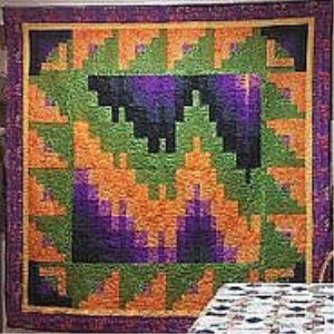 log cabin bargello