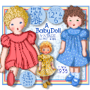 Edith Flack Ackley 1930 CLOTH Doll Pattern - A Baby Toddler  Doll | Crafting | Sewing | Dolls and Toys