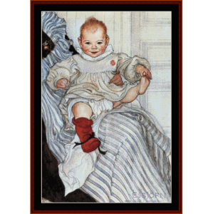 esbjorn, 1900 - larsson cross stitch pattern by cross stitch collectibles