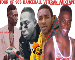 90s dancehall veterans showdown buju banton,terror fabulous,terry ganzie &spragga benz mix by djeasy