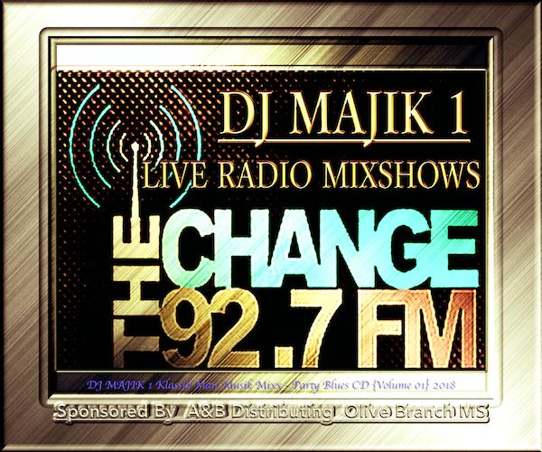 First Additional product image for - 92.7 Radio LIVE Mixshow (MS LIVE Expos) (Mississippi Folks Medley) DJ MAJIK 1 Klassik Man Musik Mixx 2018