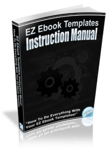 EZ Ebook Templates Instruction Manual | eBooks | Reference