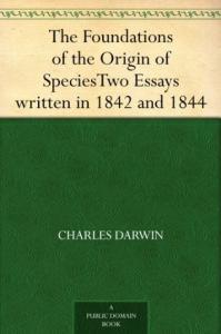 The Foundations of the Origin of Species   eBooks   Classics