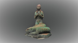 3d view vigeland sculpture stolen girl