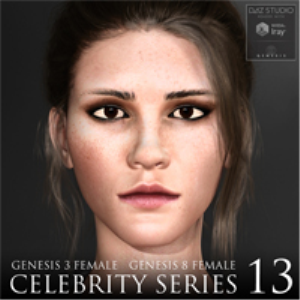 Celebrity Series 13 for Genesis 3 and Genesis 8 Female | Software | Design