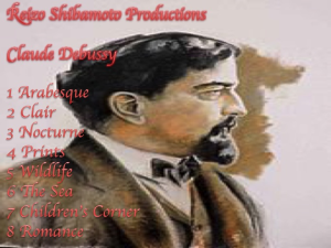 Reizo Shibamoto Claude Debussy | Music | Classical