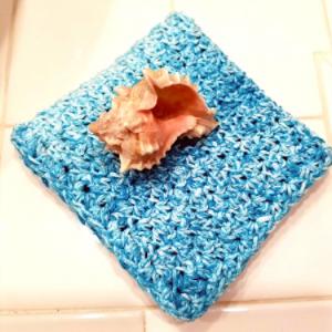 scramble stitch towel & cloth pattern