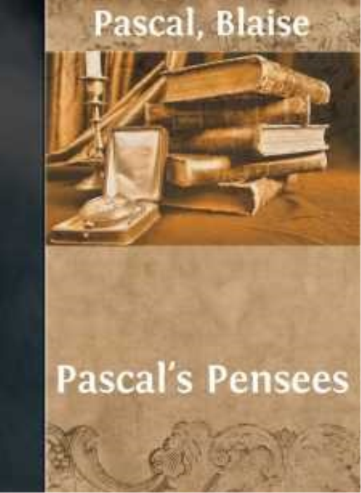 First Additional product image for - Blaise Pascal - Pascal's Pensees