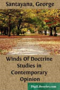 George Santayana - Winds Of Doctrine Studies in Contemporary Opinion | Crafting | Knitting | Holiday and Seasonal