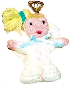 angel nina ornament pattern
