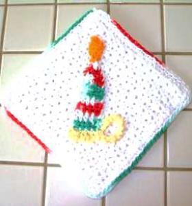 candle potholder pattern