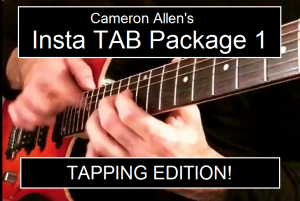 Insta TAB Package 1 - Tapping Edition | Music | Rock
