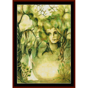 Forest Creature - Fantasy cross stitch pattern by Cross Stitch Collectibles | Crafting | Cross-Stitch | Other